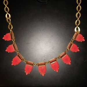 Stella and Dot Eye Candy Hot Pink Necklace
